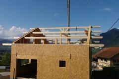 Construction maison ossature bois Viry