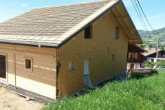 Construction ossature bois Valleiry